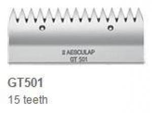 Aesculap Upper Cutter Plate, Narrow Teeth GT501 15 Teeth