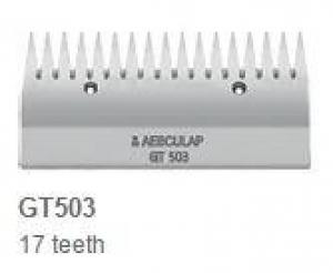 Aesculap Upper Cutter Plate Wide Teeth GT503 17 Teeth