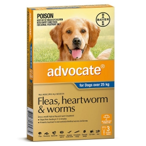 Advocate For Dogs Over 25Kg Blue 3 Pack