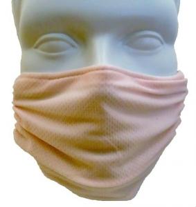 Breathe Healthy Honeycomb Pink Mask - Adjustable Ear Loops Mask
