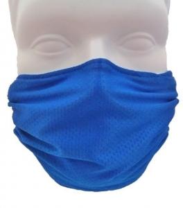 Breathe Healthy Honeycomb Steel Blue Mask