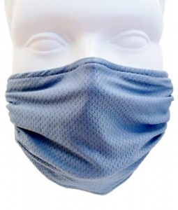 Breathe Healthy Honeycomb Blue Mask