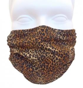 Breathe Healthy Leopard Skin Mask
