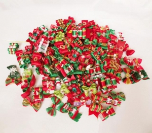 Mixed Bow Christmas Theme Individual Selection - / Each - Click for more info