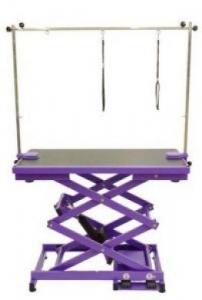Electric Grooming Table N-109X - Purple