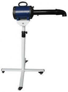 Lazor RX Stand Dryer Variable Speed  c/w Heater - Black