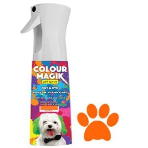 Colour Magic Pet Spray Burnt Orange