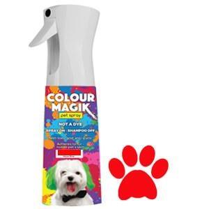 Colour Magic Pet Spray Natural Red