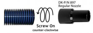 Double K Nozzle - Regular Black
