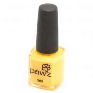 PAWZ Dog Nail Polish Lemon Yellow 9ml