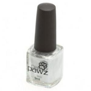 PAWZ Dog Nail Polish Silver (Metallic/Shimmer) 9ml