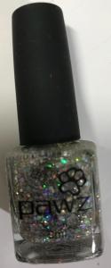 PAWZ Dog Nail Polish Sparkle Silver 9ml