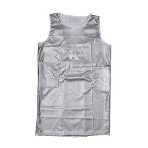 Pet Apron Sleeveless Medium - Silver