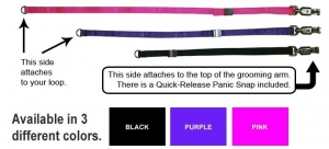 Groomers Helper Loop Adjuster - Purple 5/8""