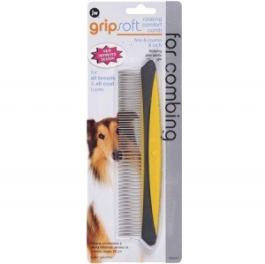 Gripsoft Rotating Comfort Comb Fine and Coarse 8``