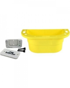 Kennel Gear Supply Caddy W/Plastic Bar MNT - Yello