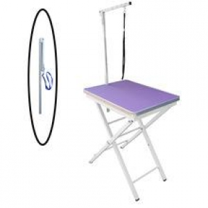 Folding Grooming Table (Show Grooming) - Purple