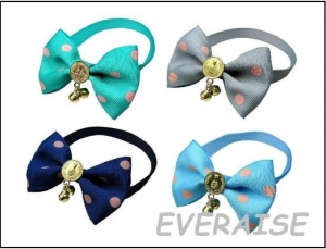 MIXED BOW TIES COLLAR-GOLD
