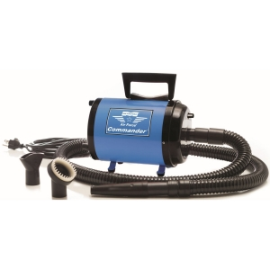 Metrovac Air Force Commander Variable Speed Pet Dryer - Blue