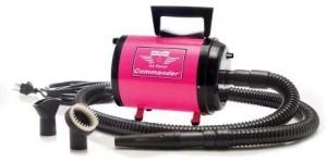 Metrovac Air Force Commander Variable Speed Pet Dryer - Pink