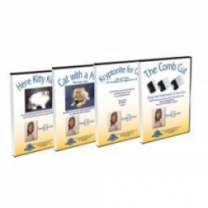 National Cat Groomers Set of 4 DVDs