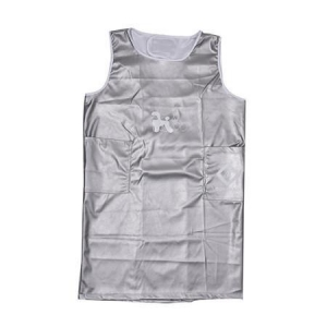 Pet Apron Sleeveless X-Large- Silver