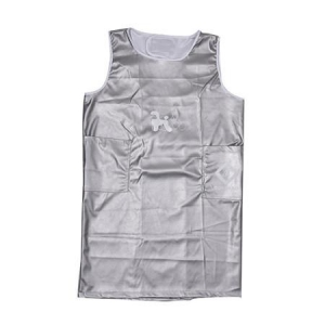 Pet Apron Sleeveless Medium - Silver