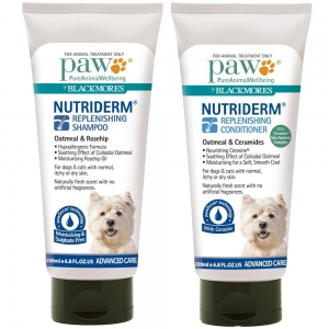 PAW - NUTRIDERM DUO PACK - SHAMPOO AND CONDITIONER 200ml BOTTLES