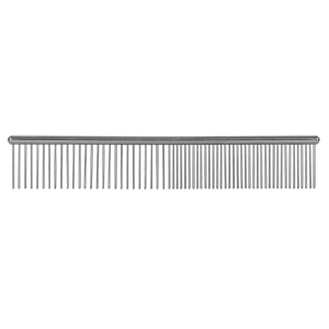 "Paw Brothers Ultra Comb 7.5""  Medium / Coarse Steel"