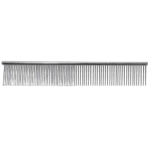 "Paw Brothers Greyhound Style Comb 7.5"" Medium / F"