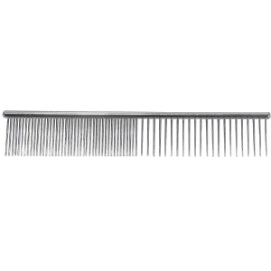 Paw Brothers Steel Greyhound Style Comb Fine/Coars