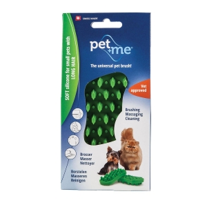 Pet+Me Soft Silicone For Small Pets With Long Hair