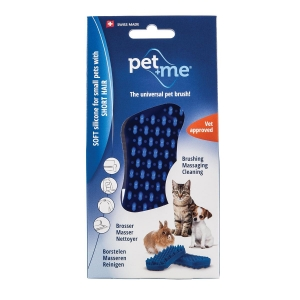 Pet+Me Soft Silicone For Small Pets With Short Hai