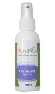 Pure Pets Candy Cane Spritzer 750ml