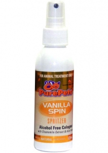 Pure Pets Vanilla Spin 125ml