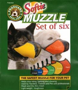 Proguard Softie Muzzles Set Of 6
