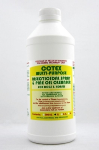 Cotex MULTI-PURPOSE INSECTICIDAL SPRAY & PINE OIL 1L