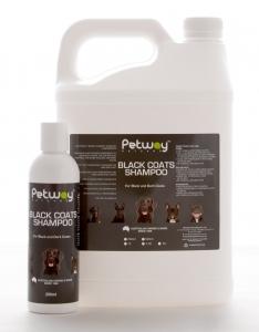 Petway Petcare BLACK COATS SHAMPOO 1L