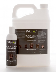 Petway Petcare BLACK COATS SHAMPOO 250ml