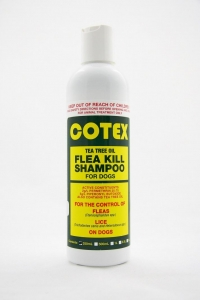 Cotex TEA TREE OIL FLEA KILL SHAMPOO for Dogs 250ml