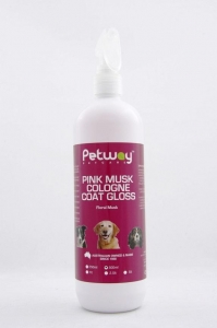 Petway Petcare PINK MUSK COLOGNE COAT GLOSS 500ml