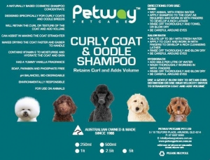 Petway Petcare Curly Coat & Oodle Shampoo 5L