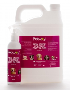 Petway Petcare PINK MUSK COLOGNE COAT GLOSS 5L