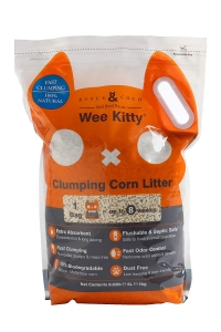 RUFUS AND COCO Wee Kitty Clumping Corn Litter 9KG 18L
