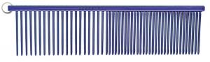 "Resco Electric Blue Combination Comb - 1.5"" Teeth"