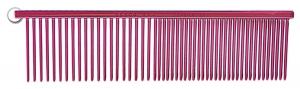 """Resco Raspberry Red Combination Comb - 1.5"""" Teeth"""