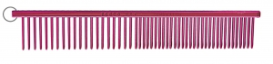 "Resco 1"" Combination Comb, Candy Red"