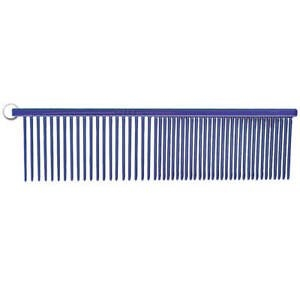 Resco Combination Comb, Candy Blue