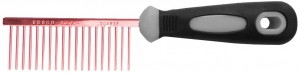 Resco Pro Comb, Candy Red - Coarse