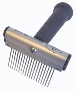 "Resco Rake Comb - Coarse 1.5"" teeth - 19 Tooth - P"